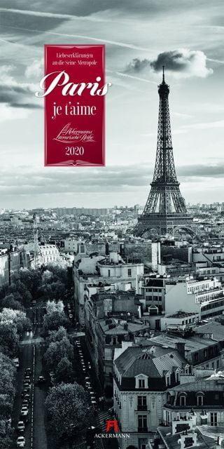: Paris, je t'aime - Literaturkalender 2020