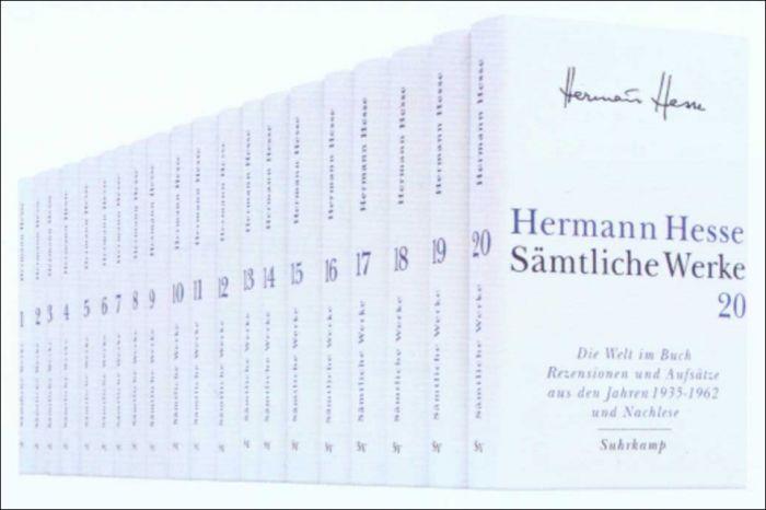 Hesse, Hermann: Sämtliche Werke