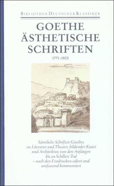 Goethe, Johann Wolfgang: Sämtliche Werke. Briefe, Tagebücher und Gespräche. 40 in 45 Bänden in 2 Abteilungen