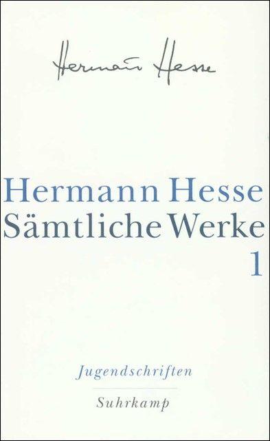 Hesse, Hermann: Sämtliche Werke in 20 Bänden und einem Registerband