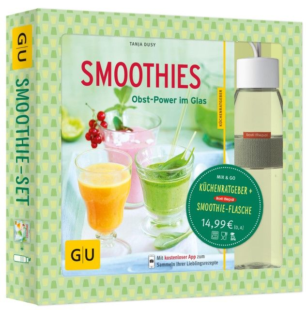 Dusy, Tanja: Smoothie-Set: Obst-Power im Glas