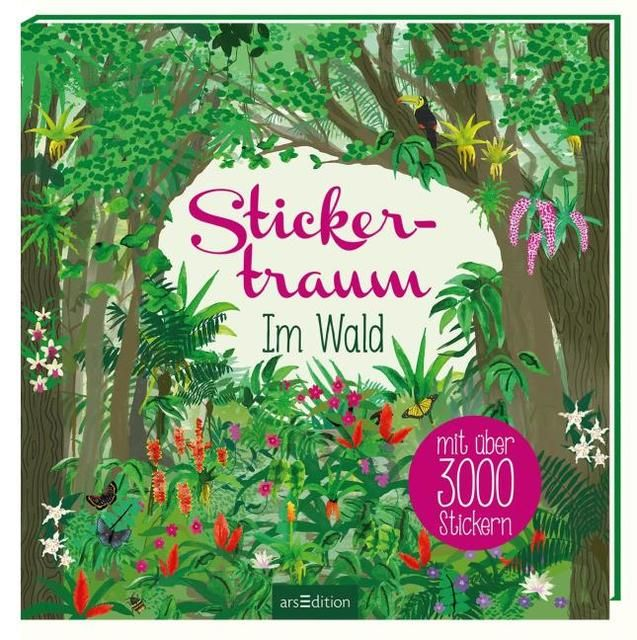 : Stickertraum - Im Wald