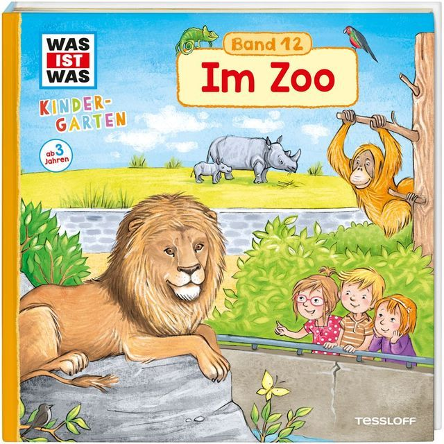 Weller-Essers, Andrea: WAS IST WAS Kindergarten,- Im Zoo