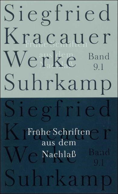 Kracauer, Siegfried: Werke 9