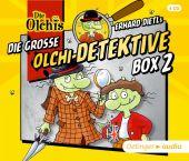 Die große Olchi-Detektive Box 2 (4CD), Dietl, Erhard/Iland-Olschewski, Barbara, Oetinger audio, EAN/ISBN-13: 9783837310269