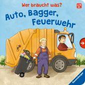 Wer braucht was? Auto, Bagger, Feuerwehr, Frank, Cornelia, Ravensburger Verlag GmbH, EAN/ISBN-13: 9783473438907