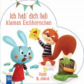 Ich hab'dich lieb kleines Eichhörnchen, YoYo Books Jo Dupré BVBA, EAN/ISBN-13: 9789463781596