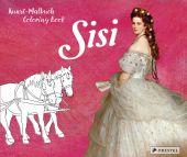 Kunst-Malbuch - Coloring Book Sisi, Roeder, Annette, Prestel Verlag, EAN/ISBN-13: 9783791374512