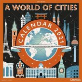 James Brown A World of Cities 2021 - Wand-Kalender - Broschüren- Kalender - 30x30 - 30x60 geöffnet, EAN/ISBN-13: 4002725973115