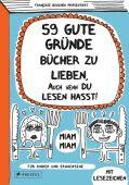 59 gute Gründe Bücher zu lieben, auch wenn du Lesen hasst!, Boucher, Françoize, Prestel Verlag, EAN/ISBN-13: 9783791371504