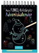 AK Mein Funkel-Kritzkratz-Adventskalender, Ars Edition, EAN/ISBN-13: 9783845830469