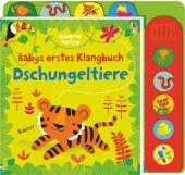 Babys erstes Klangbuch: Dschungeltiere, Watt, Fiona, Usborne Verlag, EAN/ISBN-13: 9781782327394