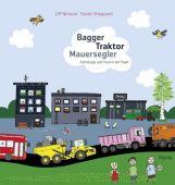 Bagger, Traktor, Mauersegler, Nilsson, Ulf, Moritz Verlag, EAN/ISBN-13: 9783895652370