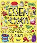 Essen essen - Kat Menschiks Küchenkalender 2021 - Im Hochformat 34,5 x 40 cm, Menschik, Kat, EAN/ISBN-13: 4250809646282