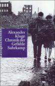 Chronik der Gefühle, Kluge, Alexander, Suhrkamp, EAN/ISBN-13: 9783518412022