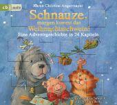 Schnauze, morgen kommt das Weihnachtsschwein!, Angermayer, Karen Christine, Random House Audio, EAN/ISBN-13: 9783837147216