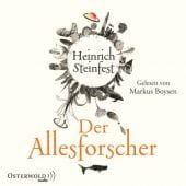Der Allesforscher, Steinfest, Heinrich, Osterwold audio, EAN/ISBN-13: 9783869522111
