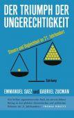 Der Triumph der Ungerechtigkeit, Saez, Emmanuel/Zucman, Gabriel, Suhrkamp, EAN/ISBN-13: 9783518429358