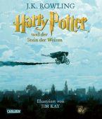 Harry Potter und der Stein der Weisen (farbig illustrierte Schmuckausgabe), Rowling, J K, EAN/ISBN-13: 9783551318688