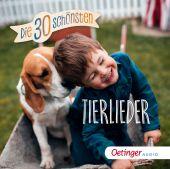 Die 30 schönsten Tierlieder, Oetinger Media GmbH, EAN/ISBN-13: 4260173788549