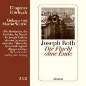 Die Flucht ohne Ende, Roth, Joseph, Diogenes Verlag AG, EAN/ISBN-13: 9783257802832