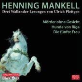 Drei Wallander Lesungen, Mankell, Henning, Hörbuch Hamburg, EAN/ISBN-13: 9783869090337