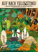 Auf nach Yellowstone!, Mizielinska, Aleksandra/Mizielinski, Daniel, Moritz Verlag, EAN/ISBN-13: 9783895654008