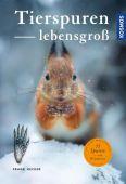 Tierspuren lebensgroß, Hecker, Frank, Franckh-Kosmos Verlags GmbH & Co. KG, EAN/ISBN-13: 9783440158180