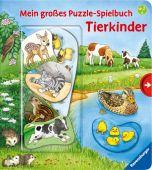 Mein großes Puzzle-Spielbuch: Tierkinder, Nahrgang, Frauke, Ravensburger Buchverlag, EAN/ISBN-13: 9783473438129
