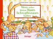 Wenn sieben kleine Hasen Schnupfennasen haben, Praml, Sabine, Verlag Friedrich Oetinger GmbH, EAN/ISBN-13: 9783789110788