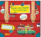 Spiel und Spaß für unterwegs (Buch-Set in Kofferform), diverse, Carlsen Verlag GmbH, EAN/ISBN-13: 9783551190956