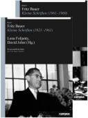 Fritz Bauer, Campus Verlag, EAN/ISBN-13: 9783593508597