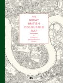 The Great British Colouring Map, Ordnance Survey, Laurence King Verlag GmbH, EAN/ISBN-13: 9781780678597