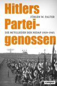 Hitlers Parteigenossen, Falter, Jürgen W, Campus Verlag, EAN/ISBN-13: 9783593511801