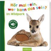 Hör mal rein, wer kann das sein - Im Wildpark, Ars Edition, EAN/ISBN-13: 9783845837505