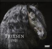 Friesen 2021 - Edle Pferde - Fotografiert von Christiane Slawik - DUMONT-Wandkalender - Format 38,0 x 35,5 cm, EAN/ISBN-13: 4250809646732