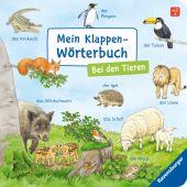 Mein Klappen-Wörterbuch: Bei den Tieren, Gernhäuser, Susanne, Ravensburger Verlag GmbH, EAN/ISBN-13: 9783473438501