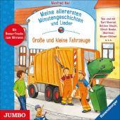 Meine allerersten Minutengeschichten und Lieder. Große und kleine Fahrzeuge, Mai, Manfred, EAN/ISBN-13: 9783833740602
