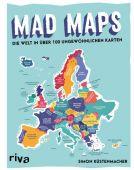 Mad Maps, Küstenmacher, Simon, Riva Verlag, EAN/ISBN-13: 9783742311054