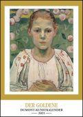 Kunstkalender 2021 - Der Goldene DUMONT-Kunstkalender - Wandkalender - Hochformat A3 29,7 x 42 cm, EAN/ISBN-13: 4250809646473