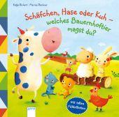 Schäfchen, Hase oder Kuh - Welches Bauernhoftier magst du?, Richert, Katja, Arena Verlag, EAN/ISBN-13: 9783401713076