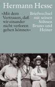 'Wir wollen es trotz allem Schwierigen immer wieder probieren', Hesse, Hermann, Suhrkamp, EAN/ISBN-13: 9783518429051