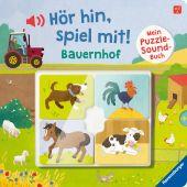 Hör hin, spiel mit! Mein Puzzle-Soundbuch. Bauernhof, Grimm, Sandra, Ravensburger Verlag GmbH, EAN/ISBN-13: 9783473439911