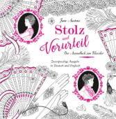 Stolz und Vorurteil - Das Ausmalbuch, 360 Grad Verlag GmbH, EAN/ISBN-13: 9783961850310