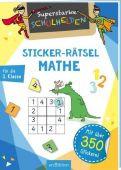 Superstarke Schulhelden - Sticker-Rätsel Mathe, Ars Edition, EAN/ISBN-13: 9783845829135