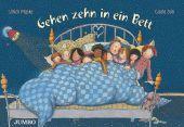 Gehen zehn in ein Bett, Dürr, Gisela/Maske, Ulrich, Jumbo Neue Medien & Verlag GmbH, EAN/ISBN-13: 9783833738869