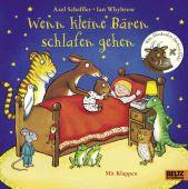 Wenn kleine Bären schlafen gehen, Scheffler, Axel/Whybrow, Ian, Beltz, Julius Verlag, EAN/ISBN-13: 9783407823335