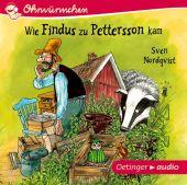 Wie Findus zu Pettersson kam (CD), Nordqvist, Sven, Oetinger audio, EAN/ISBN-13: 9783837310726