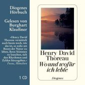Wo und wofür ich lebte, Thoreau, Henry David, Diogenes Verlag AG, EAN/ISBN-13: 9783257803242